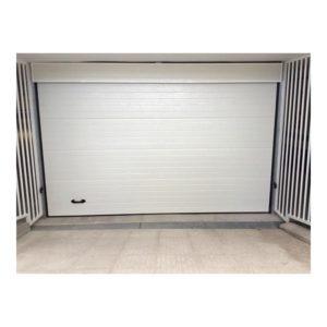 Puerta seccional panel acanalado 40 mm