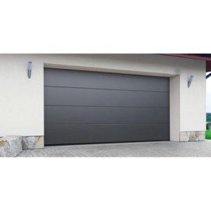 Puerta seccional panel liso 40 mm